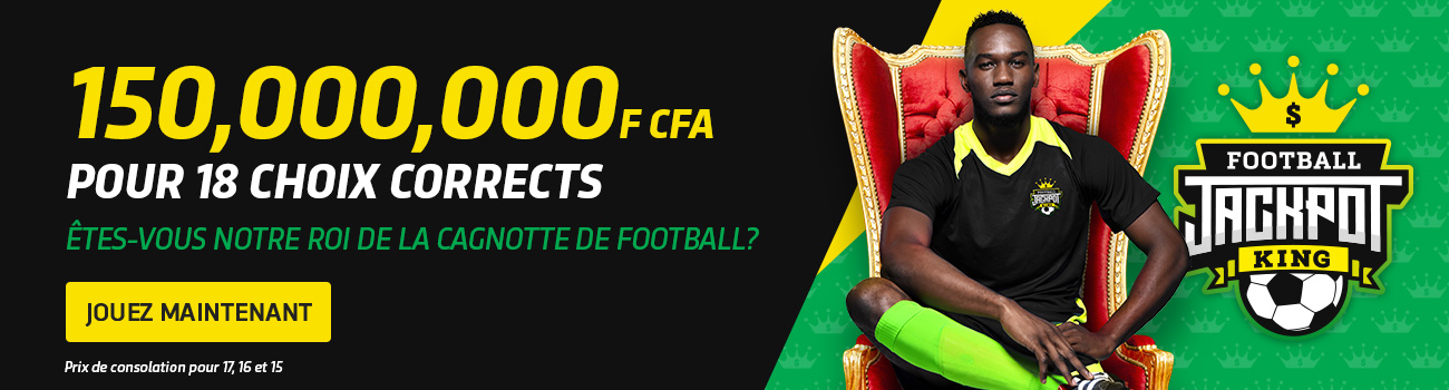Cagnotte Football Congo Bet